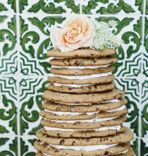 Chocolate Chip Cookie Wedding Cake World Famous By Great Dane