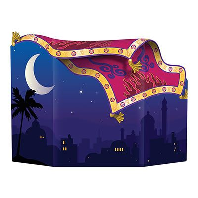 Magic Carpet Photo Prop Pack Of 6 Arabian Nights Party Arabian Nights Theme Party Aladdin Birthday Party