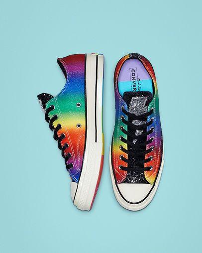7b12e0a012 Chuck 70 Pride Low Top in 2019 | $PLURGE | Converse, Shoes, Chuck ...