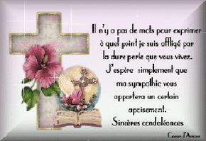 épinglé Par Alcindor Marie Claude Sur Condoléances Message
