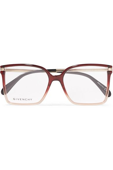 PASTL Fashion Sunglasses Womens Square Butterfly Frame Ombre Color Lens