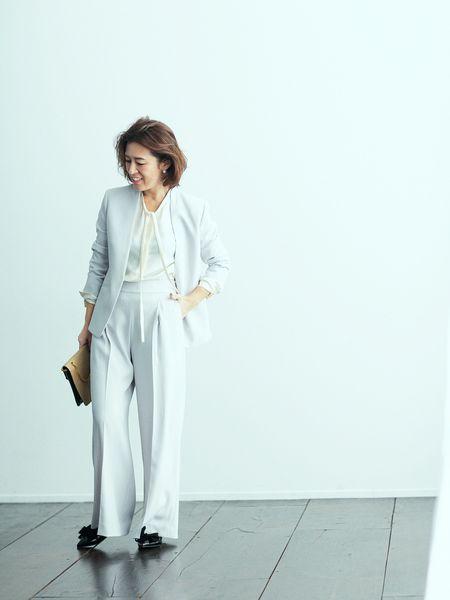 大草直子さんがピックアップ 春のイベントに最適なスーツ plst magazine プラステマガジン ファッションアイデア 大草直子 スーツ
