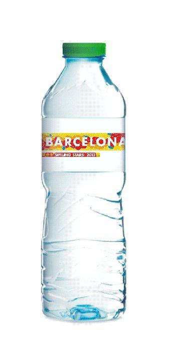 Botella De Agua Water Bottle 50cl Sant Aniol Barcelona
