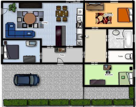 Plan Maison Plain Pied Pinterest Plan De Maison Gratuit Plan Maison 3d Plan De Maison
