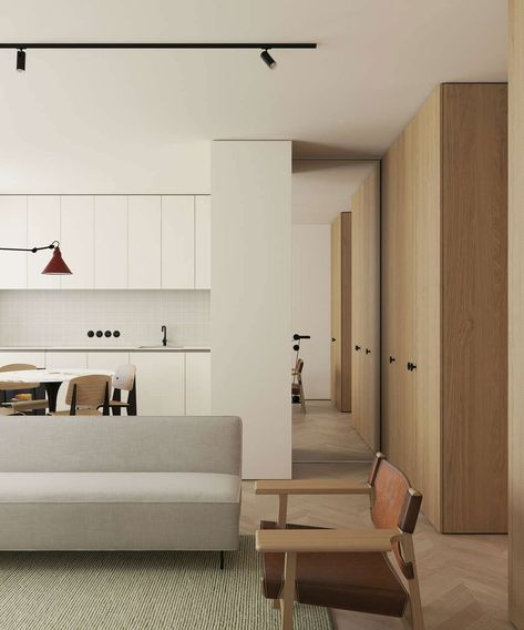 This Modern Scandinavian-Style Apartment is a Lesson in Warm Minimalism - Nordic Design