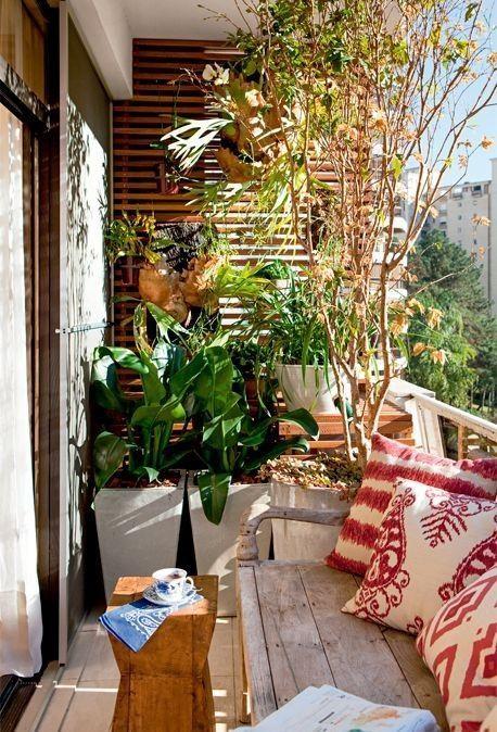 le balcon comme notre petit salon en