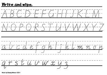 Write and Wipe - Victorian Modern Cursive   Learn ...