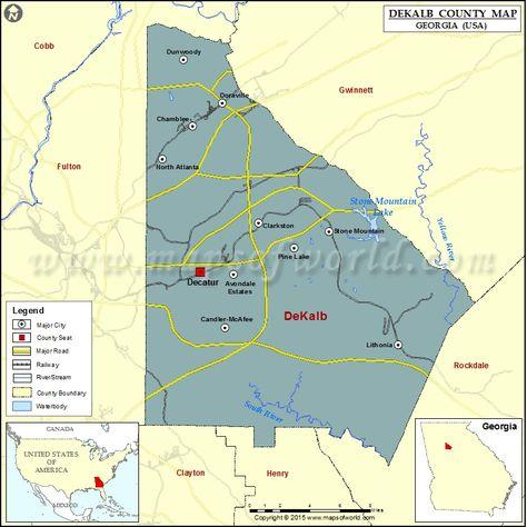 Cities In Dekalb County Ga