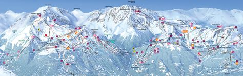Whether you've been skiing for years, or are just beginning, Les Arcs has a run for you