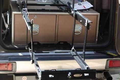 Image Result For Drop Down Fridge Slide Truck Bed Box Expedition Truck Expedition Trailer