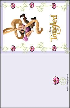 Gift tags tangled tangled gift tags free printable ideas from card tangled tangled invitations free printable ideas from family shoppingbag bookmarktalkfo Gallery