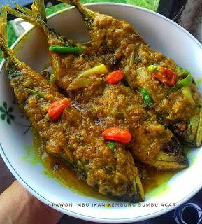 Resep Masakan Nusantara Ikan Kembung Bumbu Acar Di 2020 Resep Ikan Makan Siang Sehat Resep Masakan