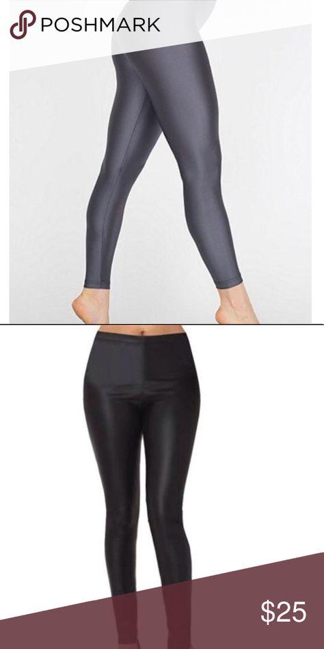 e75fe84b0b0997 American apparel shiny leggings American Apparel shiny leggings. Very  durable and great quality leggings. A nice twist on basic leggings.