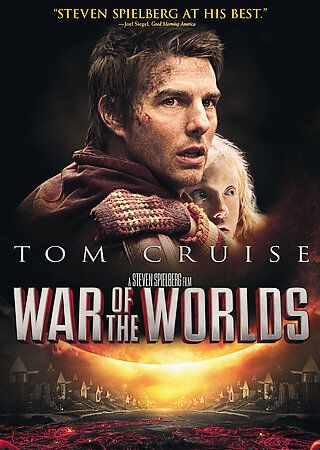 War Of The Worlds Dvd Tom Cruise Dakota Fanning Steven Spielberg Brand New Ebay War Of The Worlds Tom Cruise World Movies