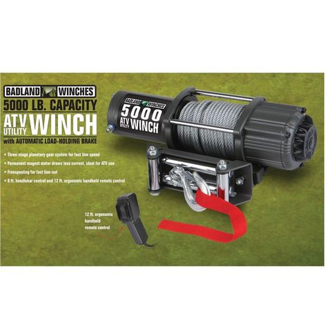 Pin on Winches  ATV Parts  Parts and Accessories  Motors