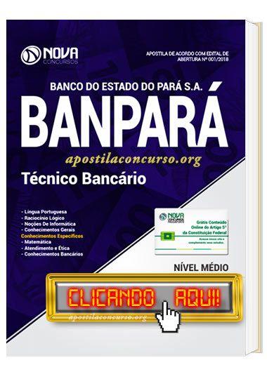 Baixe Apostila Concurso Banpara 2018 Pdf Gratis Apostilas Para