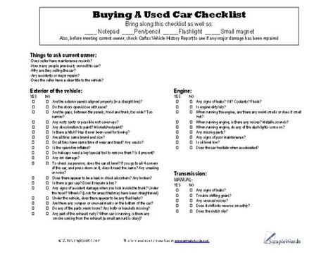 Used Car Record Envelope - 100 Per Pack \u2022 9-3/8\u201d x 11-3/4\u201d with 1/2