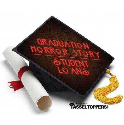 Graduation Horror Story Grad Cap Tassel Topper Info