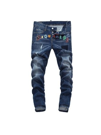 newest 939c0 aa3b4 Cool Guy Letters Logo Patch Jeans | Dsquared2 | Letras