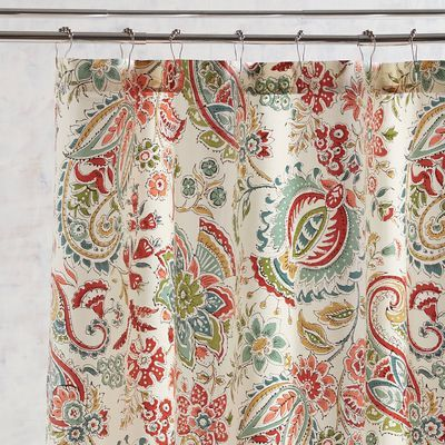Siena Multi Paisley Shower Curtain Pier 1 Imports Paisley