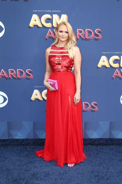 Miranda Lambert In Tyler Ellis At The ACM Awards, 2018 - Country Music's Most Daring Dressers - Photos