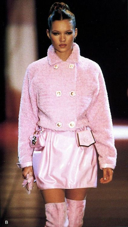 Kate Moss Gianni Versace Fashion Show & More Luxury Details