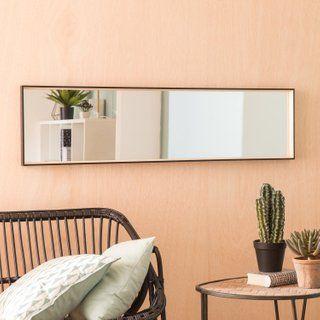 Miroir Ekod Noir L 30 X H 120 Cm Decoration Maison Miroir Miroir Design