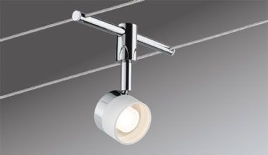 Low Voltage Tension Wire Track Lights