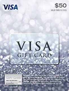 50 Visa Gift Card Plus 4 95 Purchase Fee Visa Gift Card Best Gift Cards Mastercard Gift Card