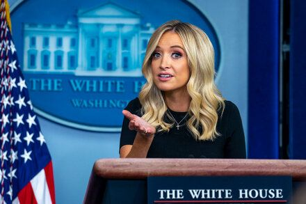 Kayleigh Mcenany Heckles The Press Is That All In 2020 Kayleigh Mcenany New Work Womens Conference