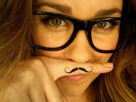 mustache tattoo!! i have been wanting one of these && am def getting one after baby!