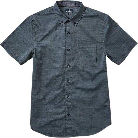 Roark Revival Well Worn Short-Sleeve Button-Down Shirt - Men's