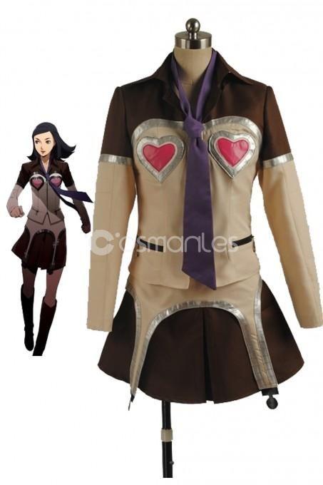 Track Persona 5  Ann Takamaki Cosplay Costume Girls School Uniform Women outfit