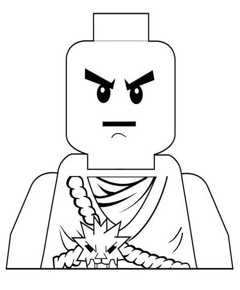 Ninjago Cole Zx Coloring Page Pictures Ninjago Cole Zx Coloring