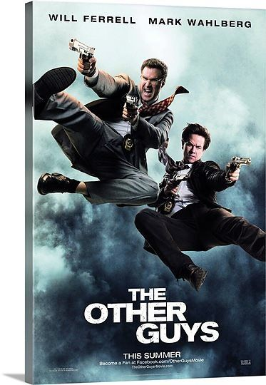 The Other Guys (2010) Solid-Faced Canvas Print