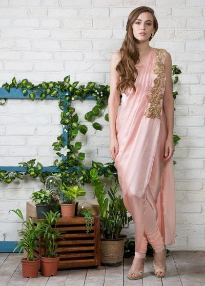 indo western dresses for cocktail party