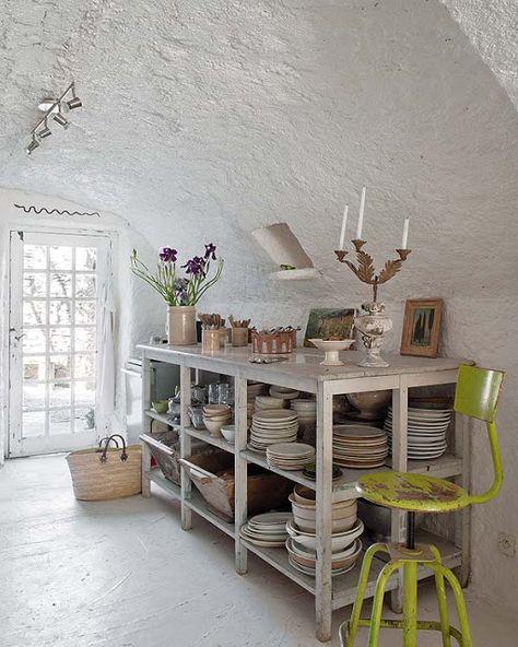 En Provence Minimalisme Shabby Chic Dans Une Maison De Vacances