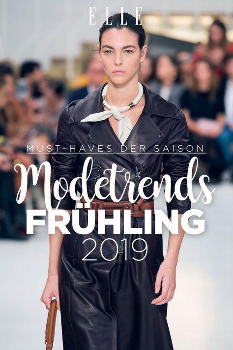 Trend-Vorschau: Diese Modetrends erwarten uns im Frühling 2019#trend #frühling #springtrends #spring #2019 #springfashion #fashion #trending #mode #modetrends #trendyfashion