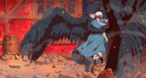 Howl's Moving Castle HD Wallpaper | Background Image | 2000x1080 | ID:1081523