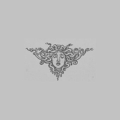 Medusa is our protector - - . - Medusa is our protector – – careDrugstore – La mejor - Mini Tattoos, Body Art Tattoos, New Tattoos, Small Tattoos, Cool Tattoos, Tatoos, Grace Tattoos, Small Dragon Tattoos, Chinese Dragon Tattoos