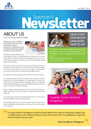 Business Newsletter Corporate Business Newsletter Clean Business