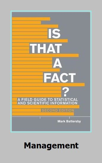 Is That A Fact Second Edition A Field Guide To Statistical And Scientific Field Guide Facts Scientific