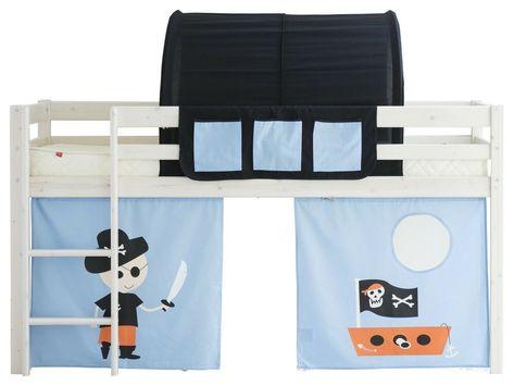 Taschen Tunnel Vorhang Vorhange Pirat Piratenschiff Fur Hochbett