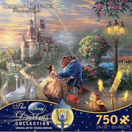 Toys | Stuff I Want | Thomas kinkade disney puzzles, Thomas