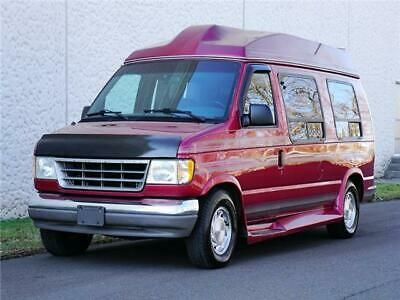 Details About 1994 Ford E Series Van Hightop Conversion Van In