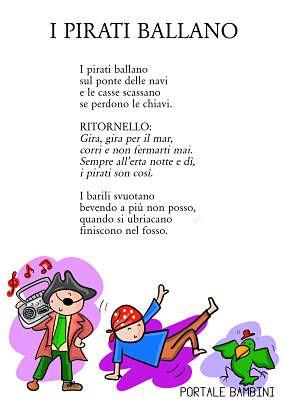 I Pirati Ballano Canzoni Per Bambini Filastrocche Scuola