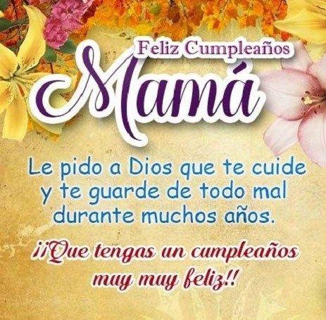 Frases Y Felicitaciones Para Una Madre En Su Cumpleaños Feliz Cumpleaños Madre Frases De Cumpleaños Para Mamá Frases De Feliz Cumpleaños Mamá
