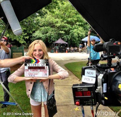 Bastidores Da 5 Temporada Caroline Com Imagens Delena