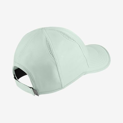 404aa2ea76a9a Nike Court Aerobill Featherlight Adjustable Tennis Hat - One Size Barely  Grey Clay Green Clay Green