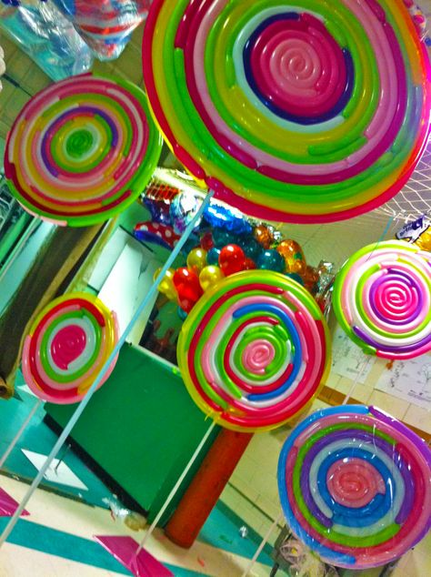 Candy Land Lollipops Balloons Party!